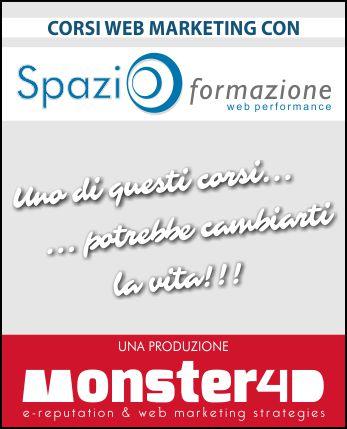 Online Spazio Formazione: corsi di web marketing a Perugia e Vicenza