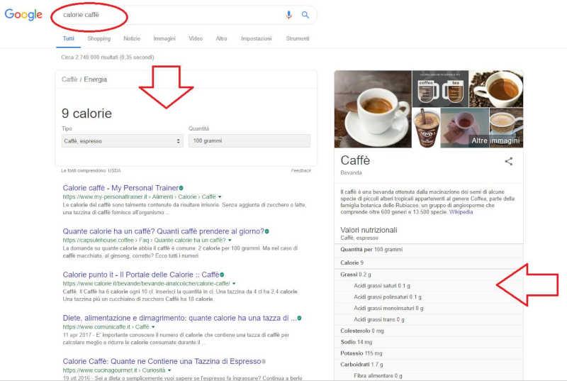 Snippet Google serp