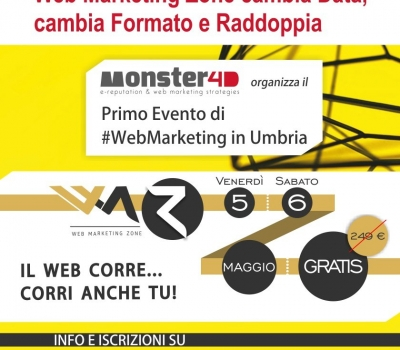 Evento Web Marketing Zone Perugia